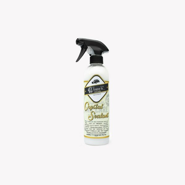 WOWO'S Crystal Sealant 500ml Protectant Ultimate Protection Nano Polymer