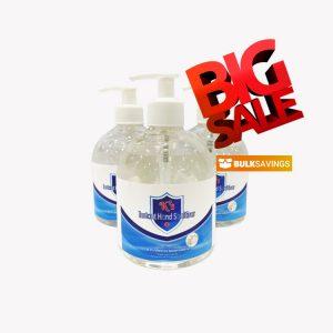 K's Instant Hand Sanitiser 75% Alcohol 500ml Gel
